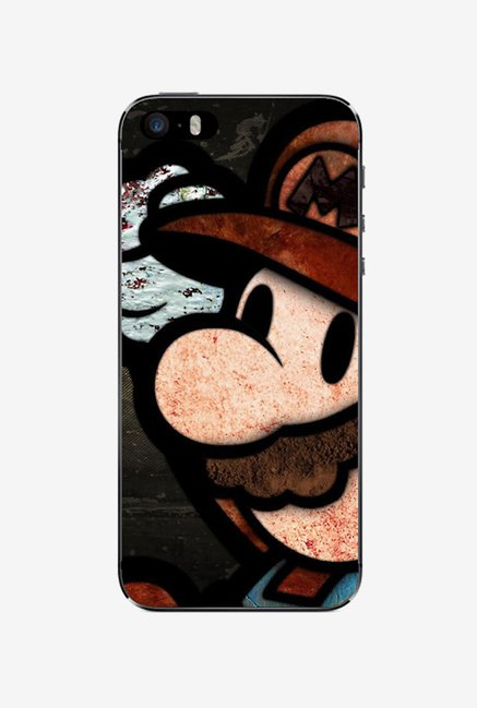 Ziddi MARIO Hard Back Cover for iPhone 5S (Multi)