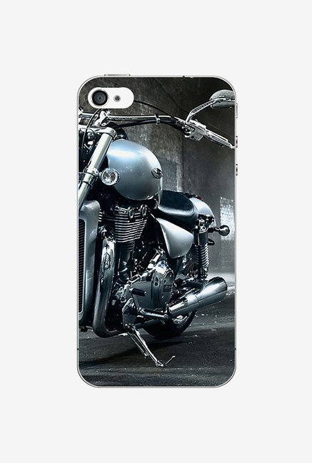 Ziddi HARLEY Hard Back Cover for iPhone 4 (Multi)