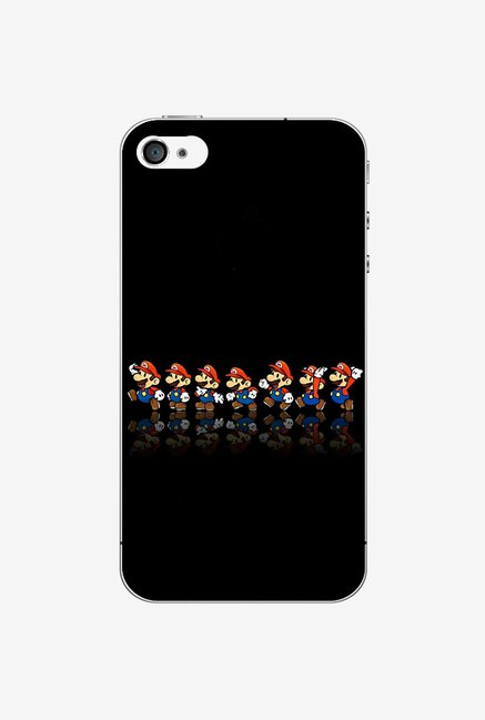 Ziddi MARIOQUE Hard Back Cover for iPhone 4S (Multi)