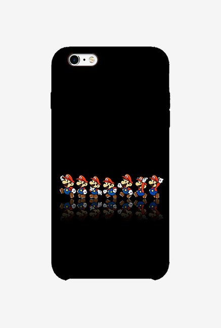 Ziddi MARIOQUE Hard Back Cover for iPhone 6S (Multi)