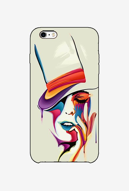 Ziddi HATLADY Hard Back Cover for iPhone 6 (Multi)