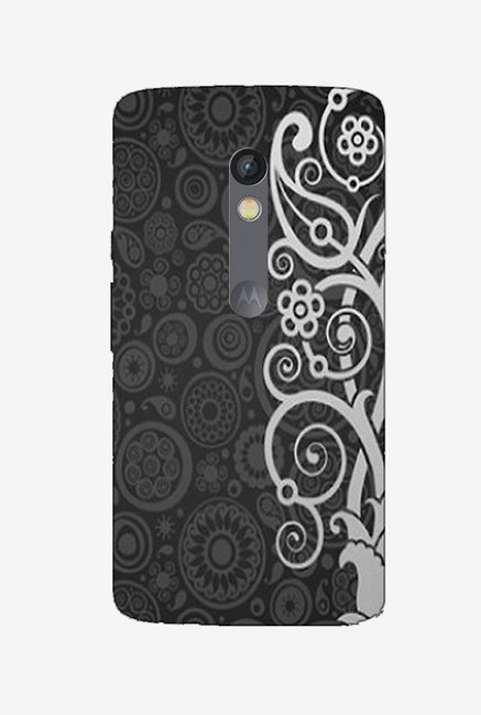 Ziddi EMBRDRY Hard Back Cover for Moto X Play (Multi)