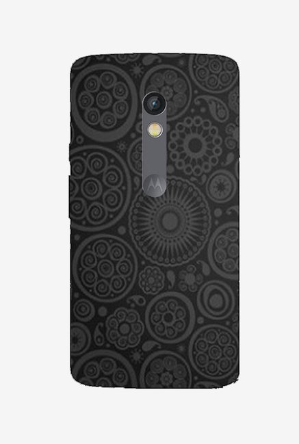 Ziddi EMBRDRY1 Hard Back Cover for Moto X Play (Multi)