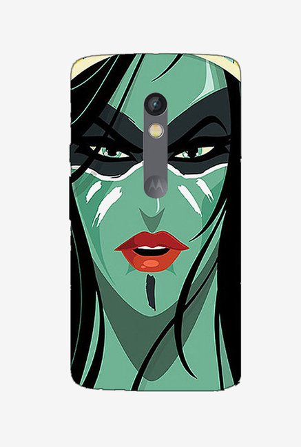Ziddi FEMME Hard Back Cover for Moto X Play (Multi)