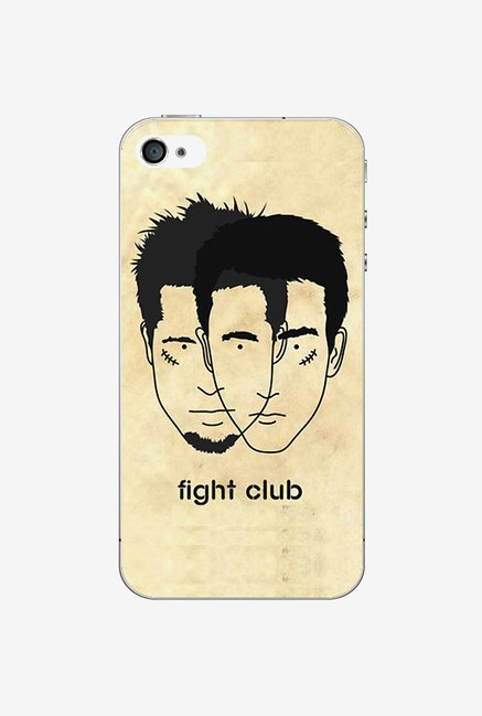 Ziddi FIGHTCLB Hard Back Cover for iPhone 4 (Multi)