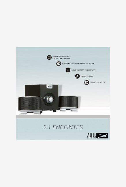 Altec Lansing Enceintes 2.1 Home Audio Speaker (Black)