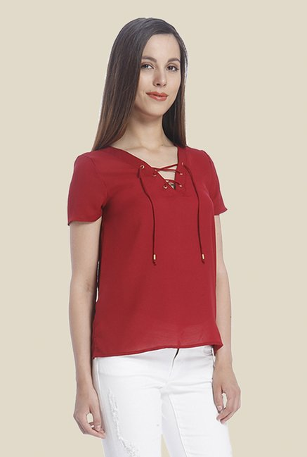 Vero Moda Red Top