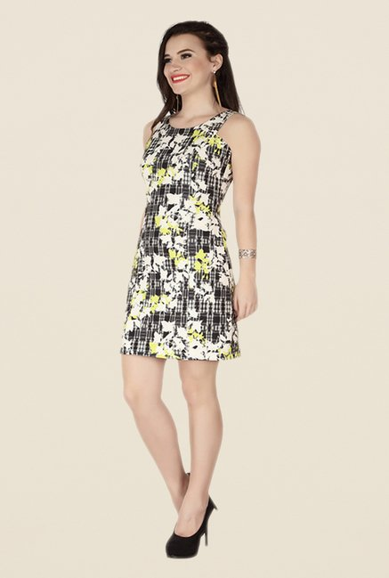 Soie Multicolor Printed Dress