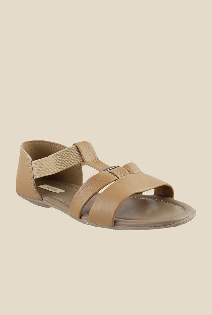 Metro Beige Casual Sandals