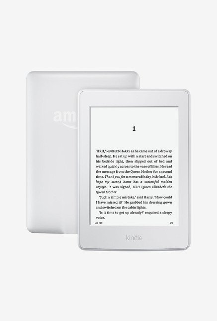 Kindle Paperwhite Wi-Fi with Built-in Light (White)