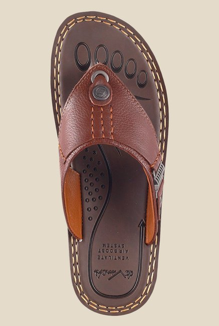 Da Vinchi by Metro Tan Thong Sandals
