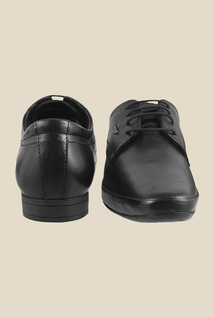 Mochi Black Derby Shoes