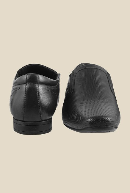 Mochi Black Formal Slip-Ons