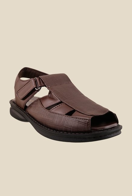 Mochi Brown Fisherman Sandals