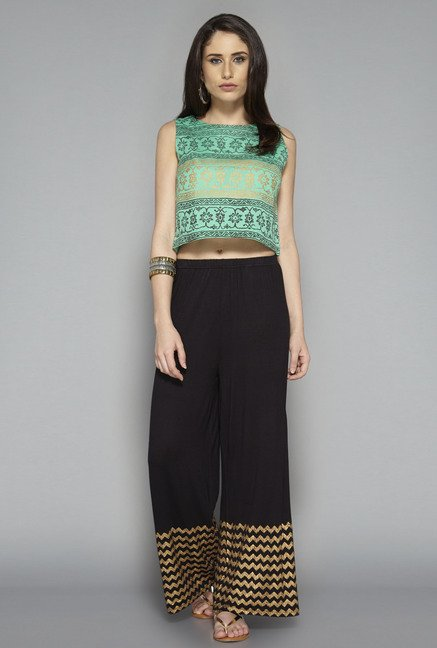 Bombay Paisley by Westside Green Printed Top
