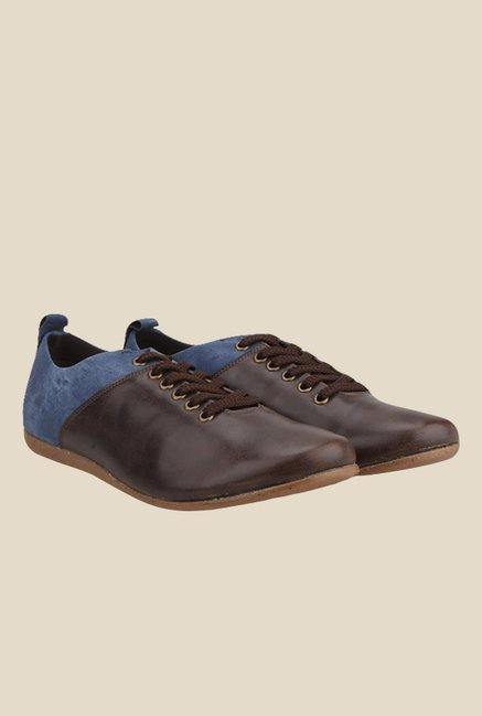 Knotty Derby Thomas Brown & Navy Casual Shoes