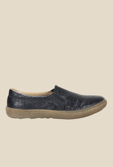 Knotty Derby Katie Black Plimsolls