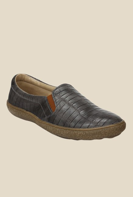 Knotty Derby Katie Dark Grey Plimsolls