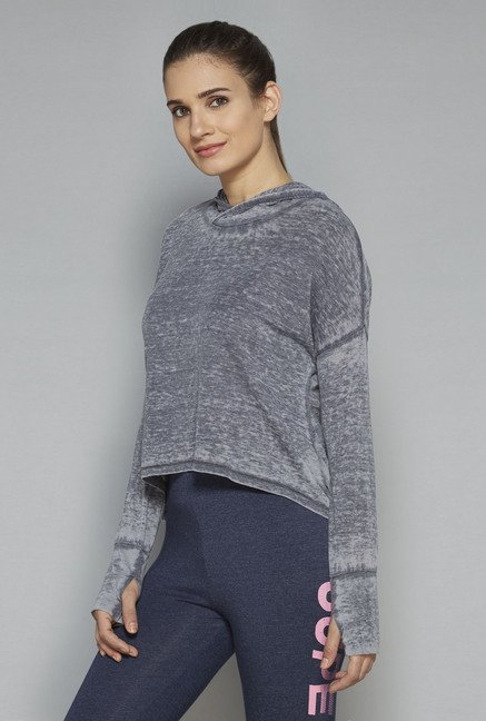 Westsport by Westside Grey Solid Top