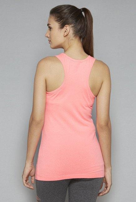 Westsport by Westside Pink Solid T-Shirt