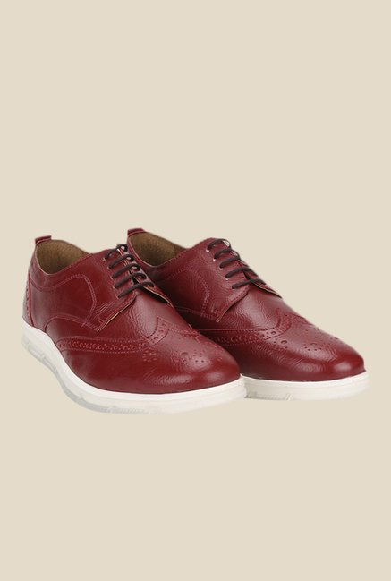 Knotty Derby Johnson Cherry Derby Shoes