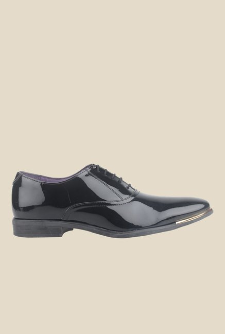 Knotty Derby Vincent Black Oxford Shoes