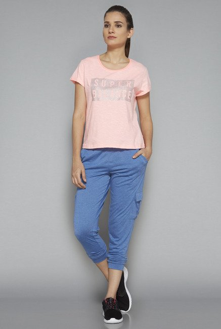 Westsport by Westside Pink Printed T-Shirt