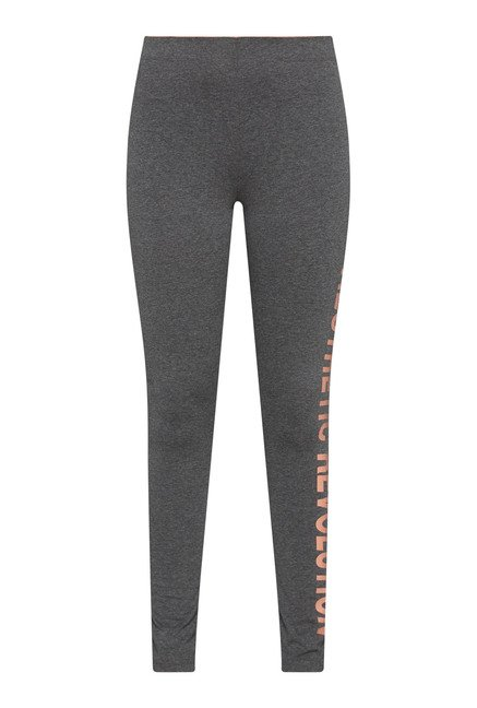 Westsport by Westside Grey Printed Leggings