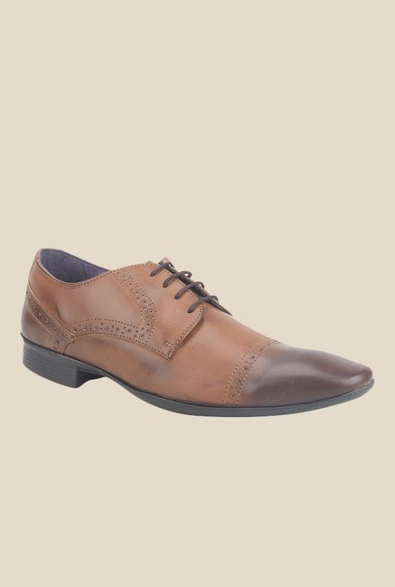Knotty Derby Arthur Tan Derby Shoes
