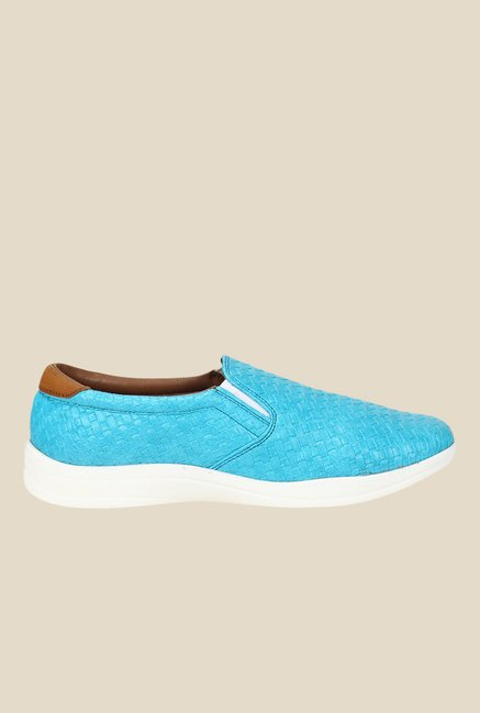 Knotty Derby Susan Blue & White Plimsolls