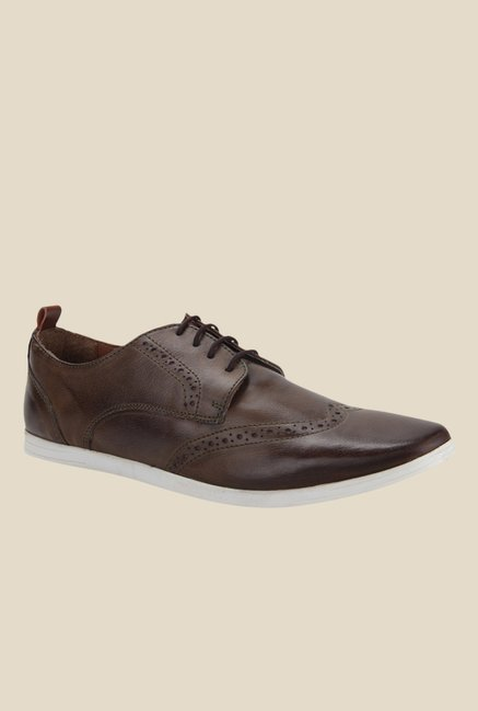 Knotty Derby Knicker Chikoo Derby Shoes
