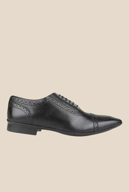 Knotty Derby Arthur TC Black Oxford Shoes