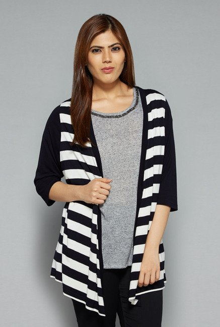 Gia by Westside Navy Genny Shrug