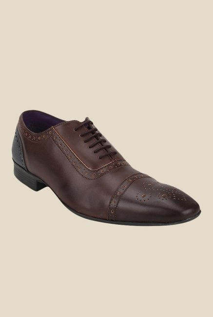 Knotty Derby Arthur TC Brown Oxford Shoes