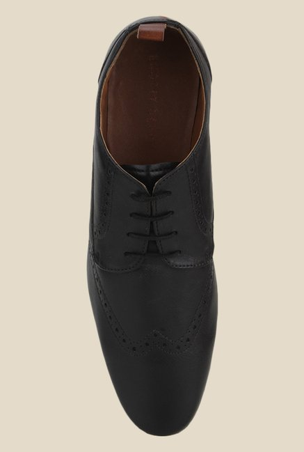 Knotty Derby Knicker Black Derby Shoes