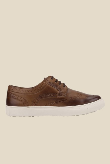 Knotty Derby Alecto Tan Plimsolls