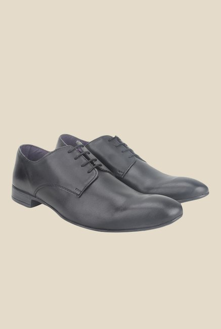Knotty Derby Viktor Black Derby Shoes