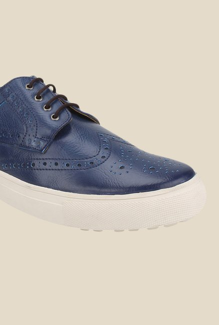 Knotty Derby Alecto Navy Plimsolls