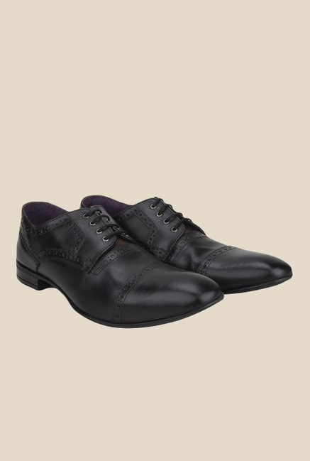 Knotty Derby Viktor TC Black Derby Shoes