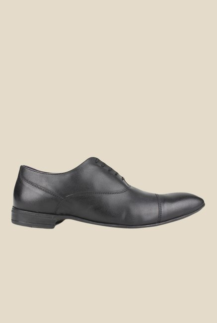 Knotty Derby Viktor TC Black Oxford Shoes