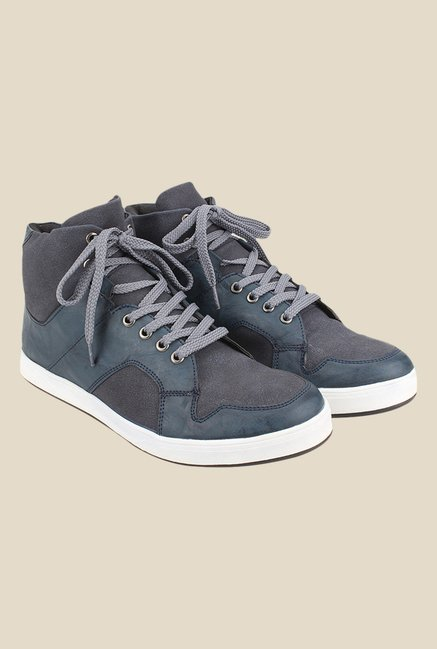 Knotty Derby Carrow Blue & Grey Sneakers