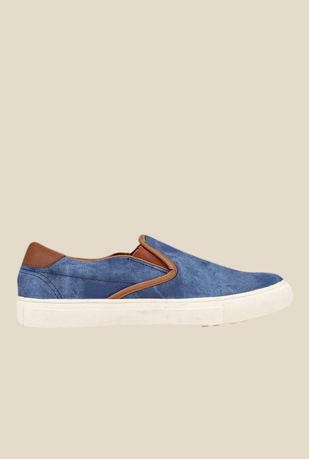 Knotty Derby Alecto Blue Plimsolls