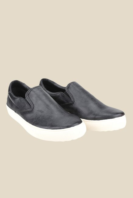 Knotty Derby Alecto Black Plimsolls