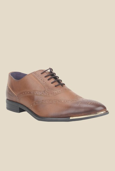 Knotty Derby Vincent Tan Brogue Shoes