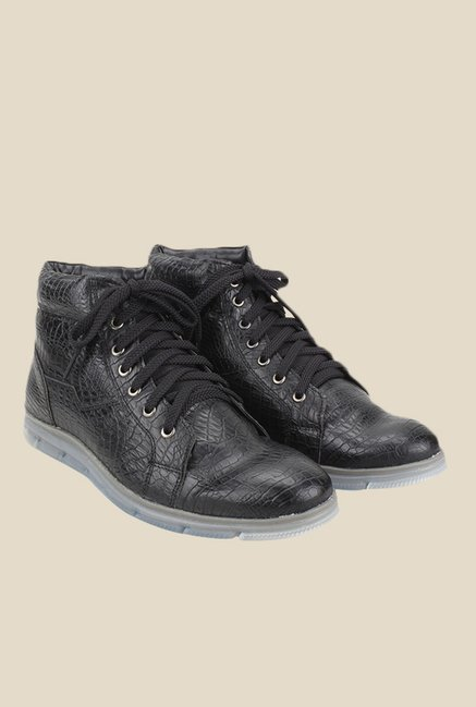 Knotty Derby Johnson Black Casual Boots