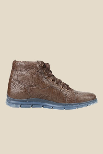 Knotty Derby Johnson Brown Casual Boots