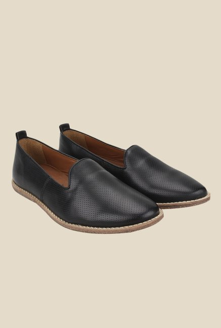 Knotty Derby Thomas Black Loafers
