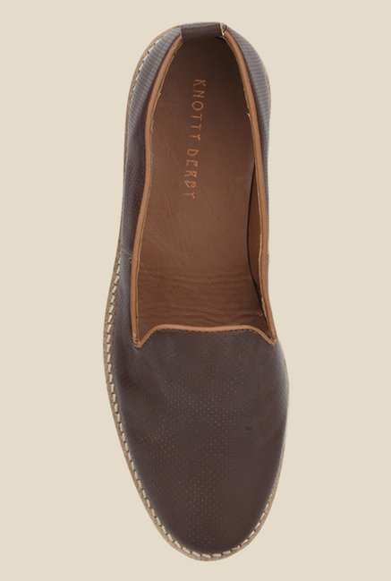 Knotty Derby Thomas Brown Loafers