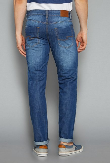 Westsport by Westside Blue Slim Fit Jeans
