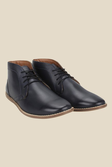 Knotty Derby Thomas Navy Chukka Boots